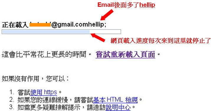 Gmail bugs