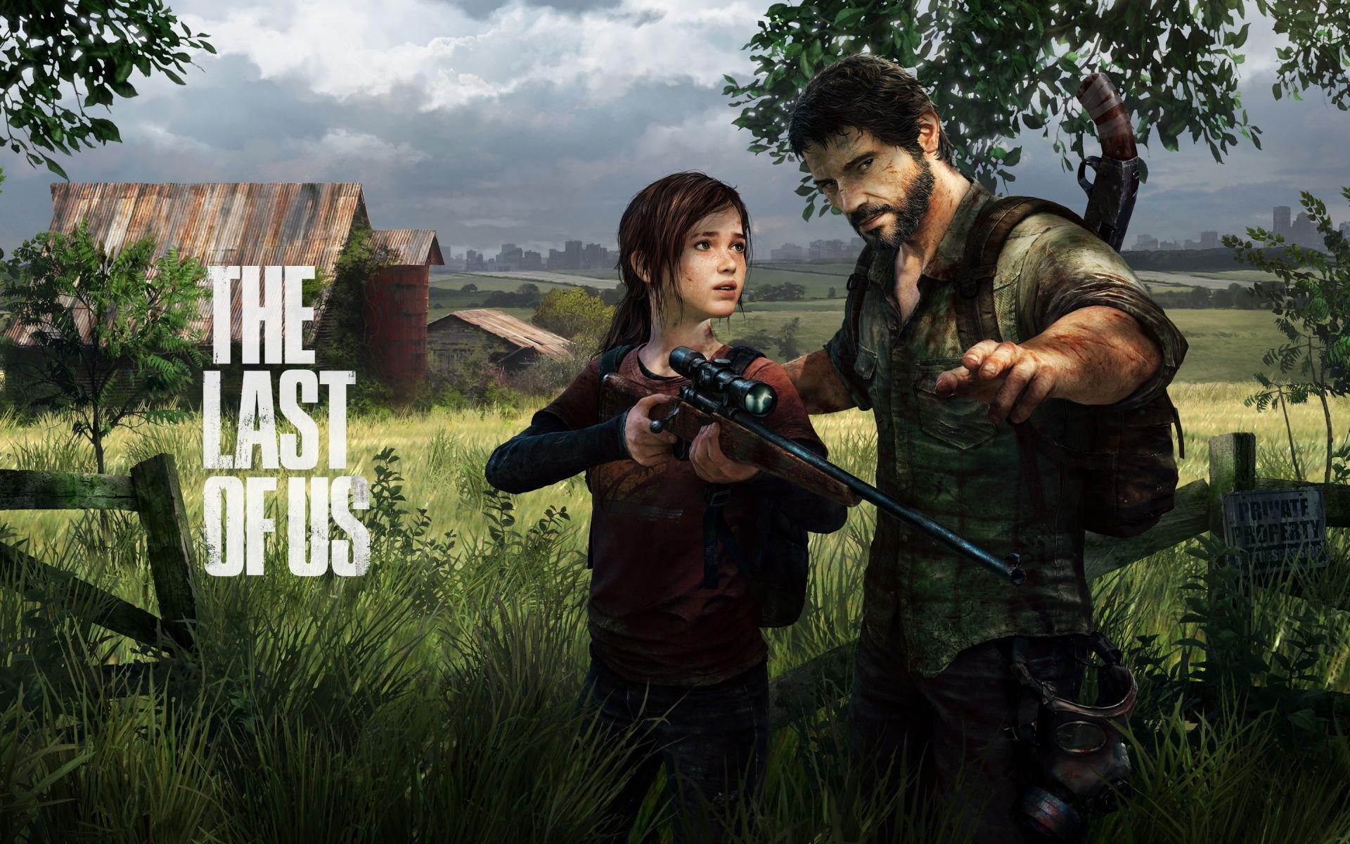 《最後生還者 The Last of Us》 – Ellie and Joel